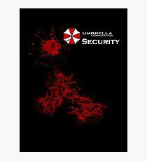 Resident Evil - Umbrella Photographic Print