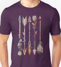Boho Tribal Arrows Unisex T-Shirt