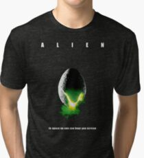Alien - poster Tri-blend T-Shirt