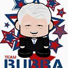 Team Bubba Politico'bot Toy Robot by Carbon-Fibre Media