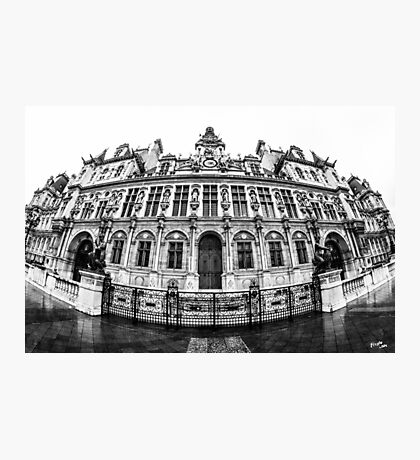 Hôtel de Ville Photographic Print