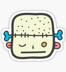 We love brains! Sticker