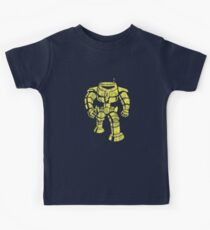 Manbot - Distressed Variant Kids Clothes