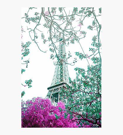 Spring Eiffel Photographic Print