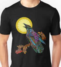 Electric Crow Unisex T-Shirt
