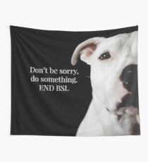 END BSL Wall Tapestry