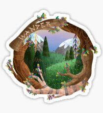 Wander Sticker