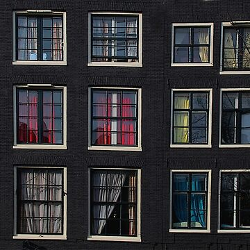 Amsterdam Windows by louisefahy
