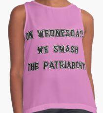 On Wednesdays, We Smash the Patriarchy! Contrast Tank