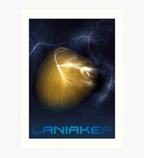 Laniakea - You Are Here - Version 2 Art Print