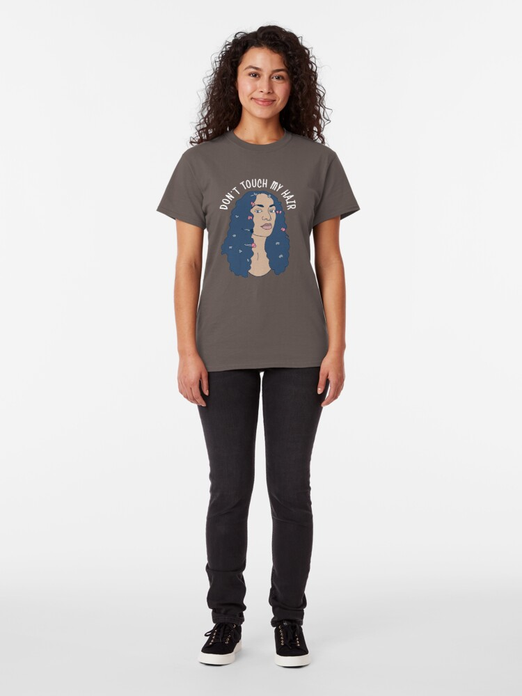 Alternate view of Solo Don't Touch My Hair Classic T-Shirt
