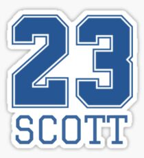 one tree hill- 23 Sticker