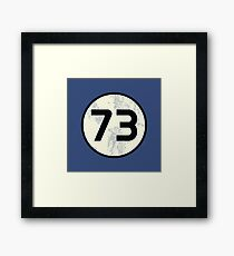 73 Sheldon Distressed Framed Print