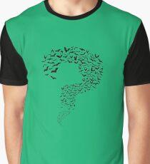 Riddler Bats question mark Graphic T-Shirt