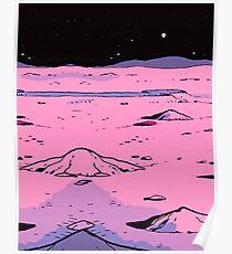 Manhattan Moon Poster