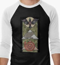 A Hedge-witches' Tapestry  Men's Baseball ¾ T-Shirt