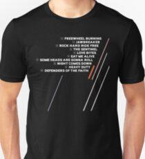 Defenders of the Faith Tracklist Unisex T-Shirt