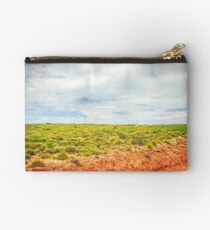 Nature always wears the colors of the spirit. Studio Pouch