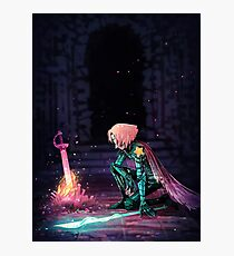 Pearl knight  Photographic Print