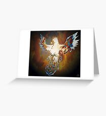 The White Phoenix Greeting Card