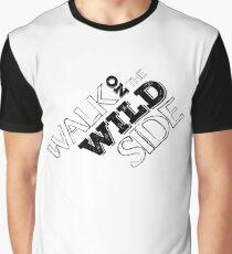 lou reed velvet underground walk on the wild side lyrics song rock n roll guitarist guitar t shirts Graphic T-Shirt