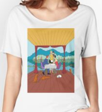 Dinner with a view Women's Relaxed Fit T-Shirt