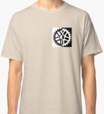 half invert color bmx sprocket Classic T-Shirt