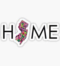 Home- new jersey Sticker