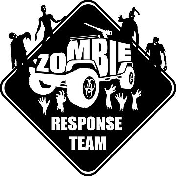 Zombie Response Team by jeepstyletees