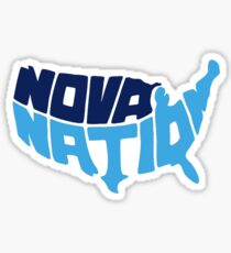 Villanova- nova nation Sticker