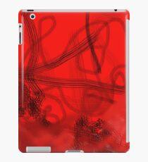 Fire Engine Red iPad Case/Skin