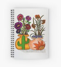 Flowers/7 - Southwest Spiral Notebook