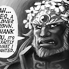 Flower Crown Ganondorf by Figment Forms