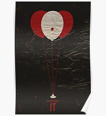 "Vintage Movie Poster Inspired by Stephen King's ""IT"" Poster"