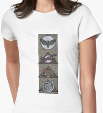 Hedgewitch Night Women's Fitted T-Shirt