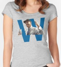 Chicago Cubs World Series Champions 2016 Bill Murray Women's Fitted Scoop T-Shirt