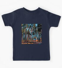 Bay Window Volkswagen Westfalia in Yellowstone  Kids Tee