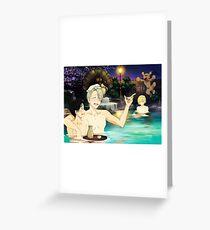 Onsen Greeting Card