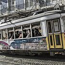 Lisbon Tram  by Mark Higgins