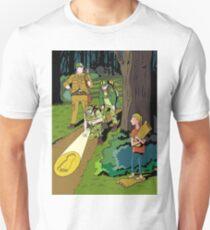 Fooling Sasquatch hunters Unisex T-Shirt