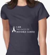 Face Of Invisible Illness Women's Fitted T-Shirt