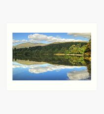 Coniston Water And The Old Man Art Print