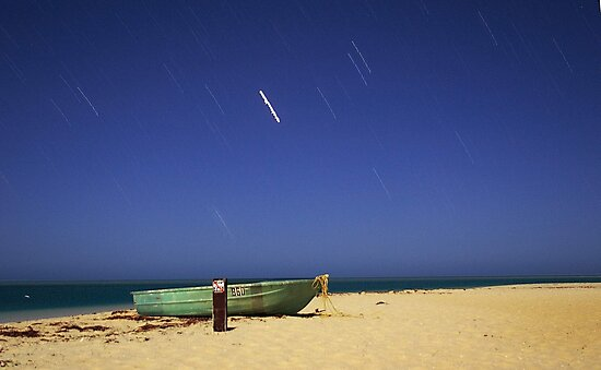 Boat on the beach by EOS20