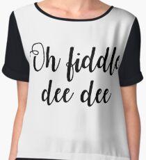 Oh Fiddle Dee Dee Chiffon Top