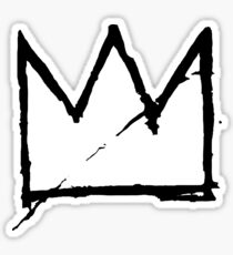 Crown (Black) Sticker