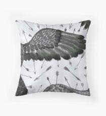 angle wings Throw Pillow