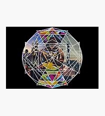 Graffiti mandala  Photographic Print