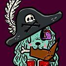 Pirate Zombie Dog by fluffymafi