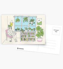 Plant Life Postcards