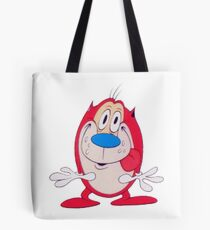 Stimpy pixelated! Tote Bag